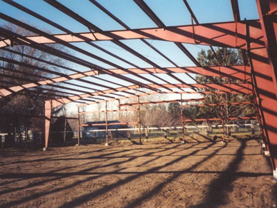 Steel Frame of a Building